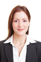 Freundliche Geschäftsfrau