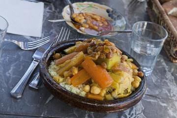 Arabisches Cus-Cus in Marokko
