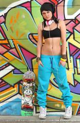 ragazza hip-hop