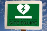 Défibrillateur cardiaque - Urgence - Secours poster