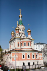 église russe orthodoxe