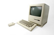 Apple Macintosh 128k from 1984, the vintage iMac