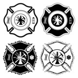 Firefighter Cross Symbols