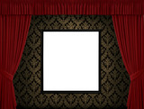 Seamless antique background image - tileable and vector poster