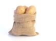 Kartoffeln in Sack