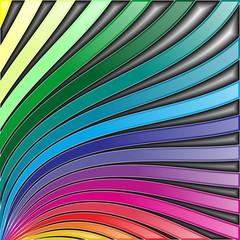 Arcobaleno Sfondo Astratto-Rainbow Abstract Background-Vector