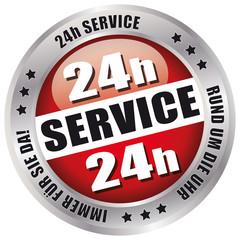 24h Service - Rund um die Uhr immer für Sie da!