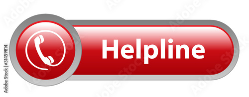 HELPLINE Web Button (hotline support customer service call us)