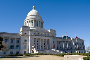 State senate building in Little Rock, capital of Arkansas