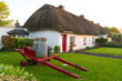 Irish traditional cottage houses