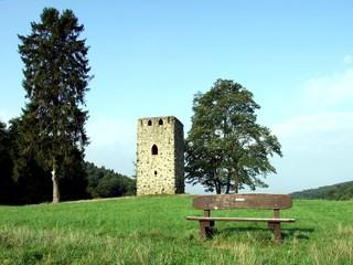 Oben in Hemsbach