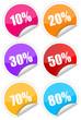 Sticker / Aufkleber / Prozent