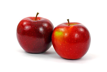 Two Firm Ripe Rome Apples