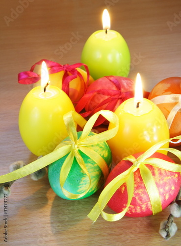Easter Festive Still Life Vertical