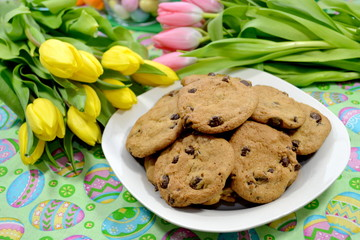 Cookies and Tulips