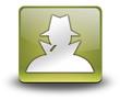 "Yellow 3D Effect Icon ""Spy / Investigator"""