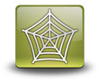 "Yellow 3D Effect Icon ""Spider Web Symbol"""