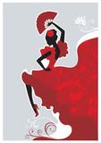 Fototapety Flamenco dancer