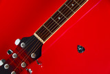 Guitar Neck in Red