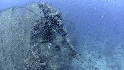 Aniti aircraft gun, SS Thistlegorm