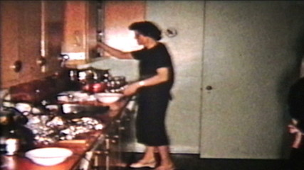 Christmas Turkey (1958 Vintage 8mm film)