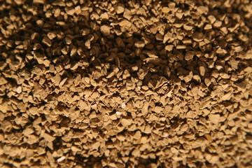 granulated coffee powder