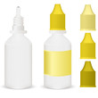 yellow medicine dropper bottle