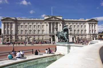 London, Buckingham Palace