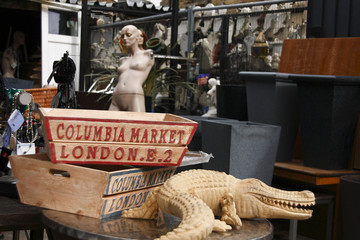 london, columbia market