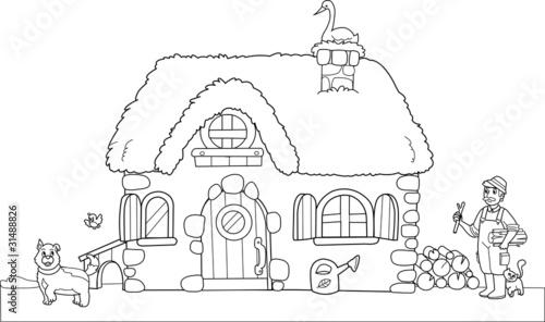 Vecchia fattoria da colorare per bambini immagini e for Nuovi piani di vecchia fattoria