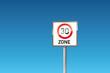 Verkehrszeichen 274.1 Beginn einer Tempo-30-Zone
