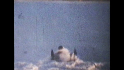 Snowmobiling Jumps (1975 Vintage 8mm film)