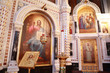 Icons inside Cathedral of Christ the Saviour