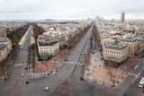 Arc de Triomphe on Bois de Boulogne and La Defense