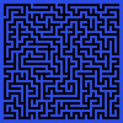 Abstract maze background.