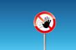 Verbot Zutritt für Unbefugte verboten