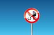 Verbot verboten Kinderwagen auf Rolltreppe verboten