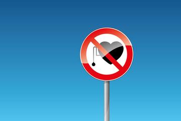 Verbot für Personen mit Herzschrittmacher verboten