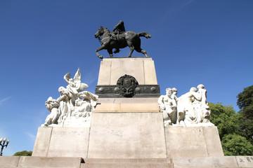Statue von Bartolome Mitre in Buenos Aires