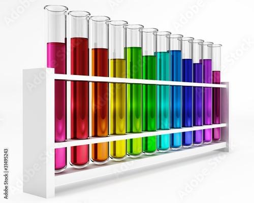reagenzgl ser regenbogen farben bunt chemie stockfotos und lizenzfreie bilder auf. Black Bedroom Furniture Sets. Home Design Ideas