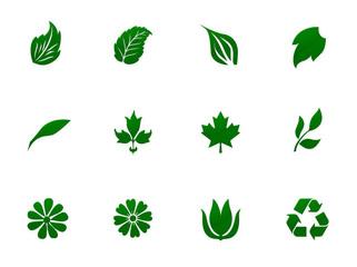 植物のシンボルセット