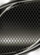 Wire mesh, black background
