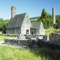 St. Kevin´s Monastery,Glendalough,County Wicklow,Ireland