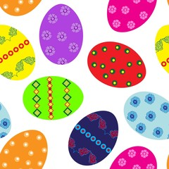 Easter eggs repetition
