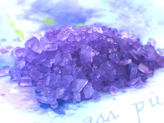 lavender salt sea