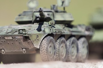 Wheeled Tank Destroyer Centauro VCR105 Model Kit