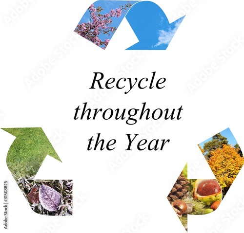 Recycle throughout the year