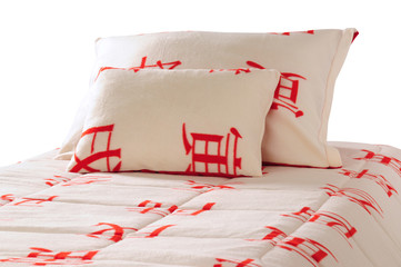 Bedding. Isolated