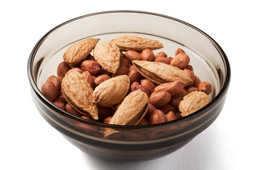 peanuts and almond