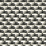 Fototapety Geometric seamless pattern made of stacked cubes